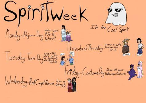 Spirit Week is Back!